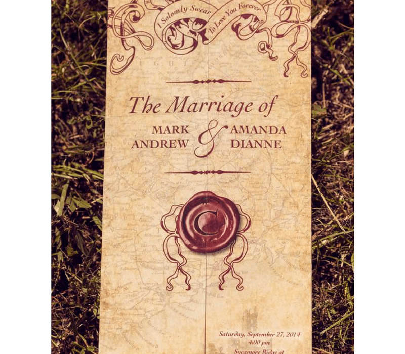 Have a Harry Potter Wedding…