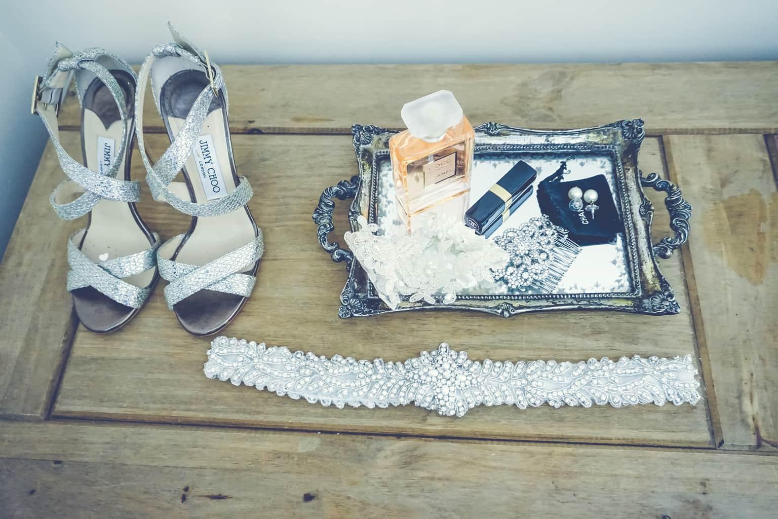 stylish bride details