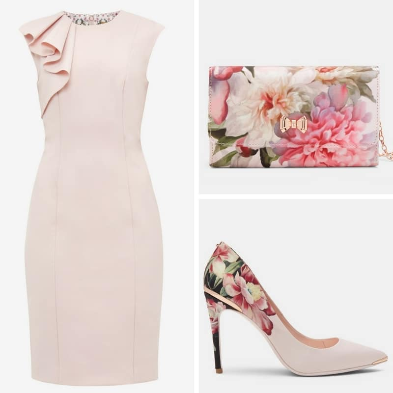 floral ted baker outfit
