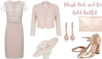 Blush Pink and Rose Gold Outfit
