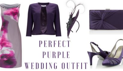 perfect purple wedding outfit