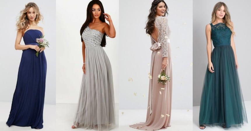 10 gorgeous winter bridesmaids dresses under £80