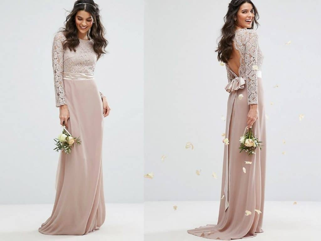 10 Gorgeous Winter Bridesmaid Dresses under £80! - Your Wedding Hub