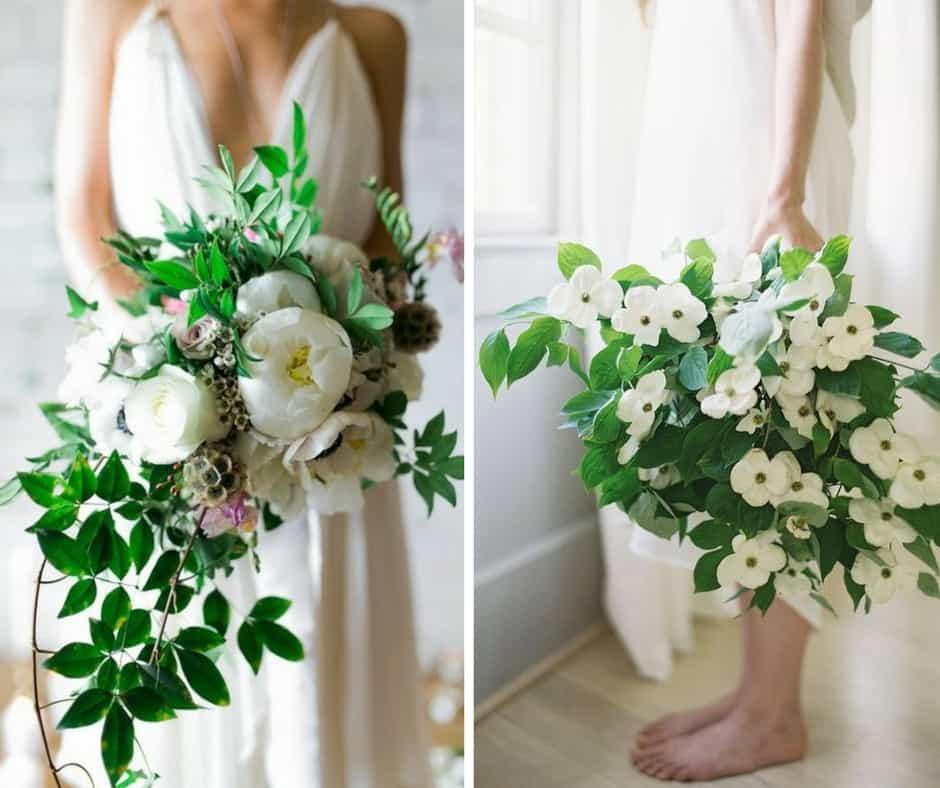overgrown wedding bouquets