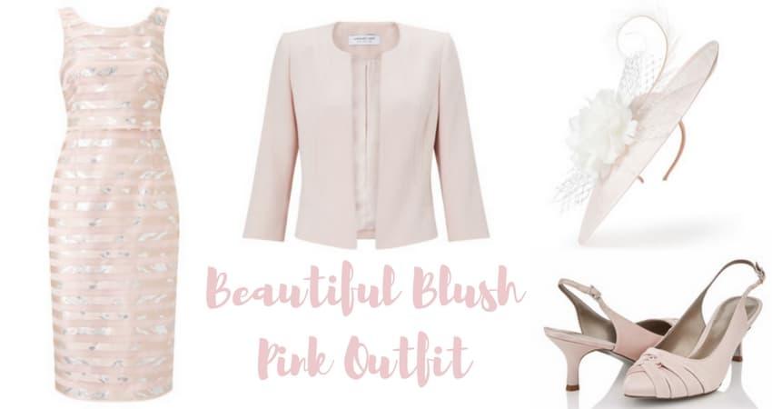 Beautiful Blush Pink Outfit