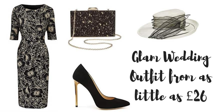 Glam Wedding Outfit