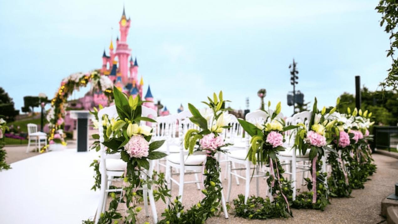 Disneyland Paris wedding