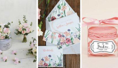 spring wedding etsy