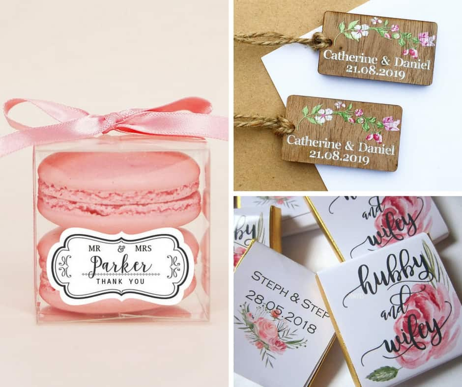 spring wedding favours