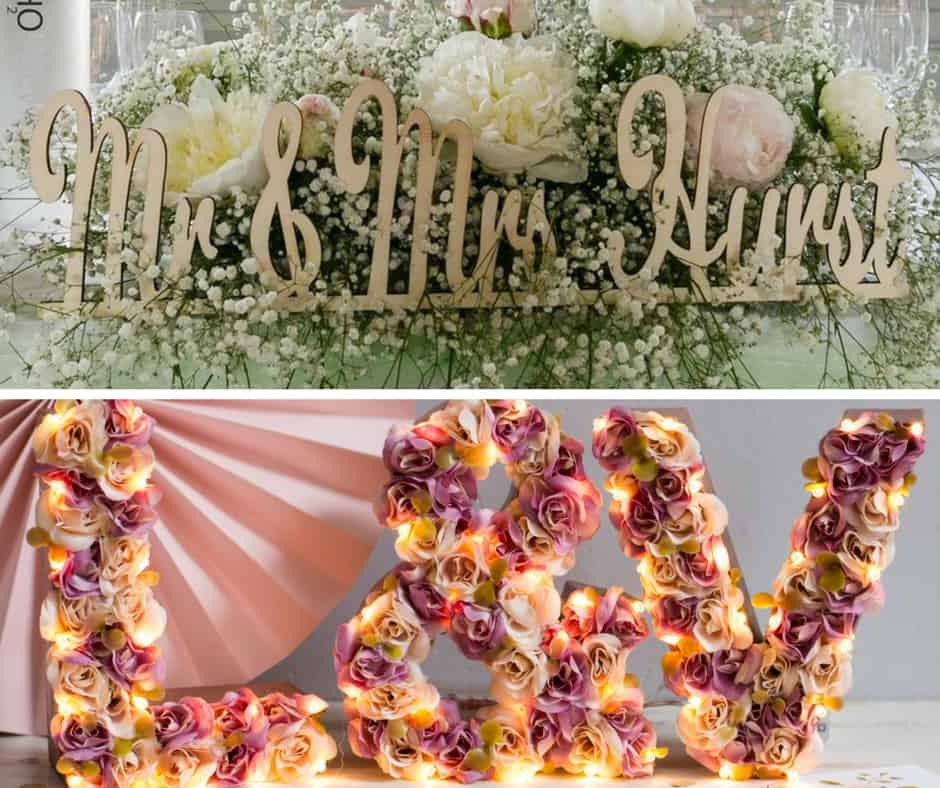 spring wedding letters