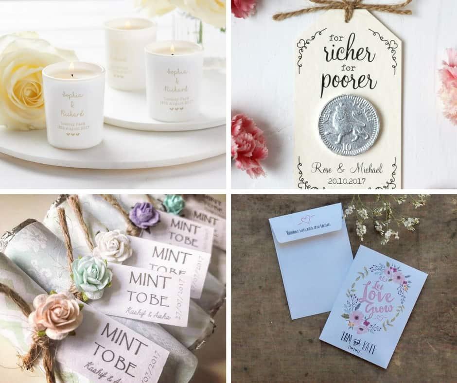wedding favours etsy blog