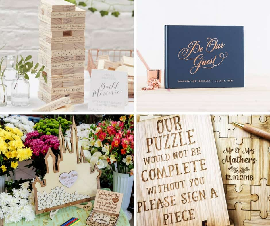 wedding guestbooks etsy decor