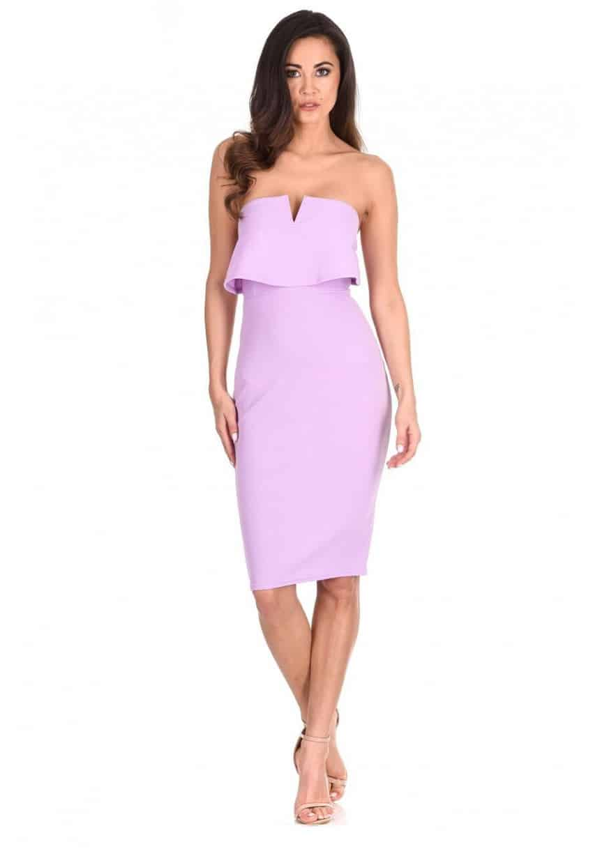 Lilac- Notch-Front-Bodycon-Dress-2