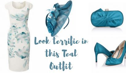 Look terrific in this Teal Outfit