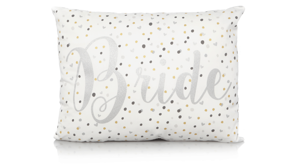 bride cushion