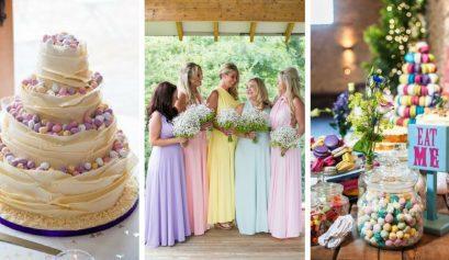 easter wedding inspo