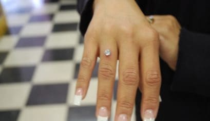 wedding ring piercing
