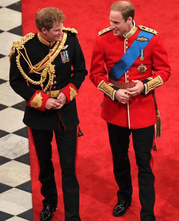 Harry and William royal wedding