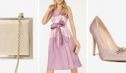 stunning reduced wedding guest outfit