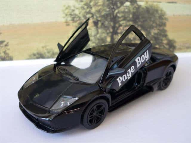 page boy car
