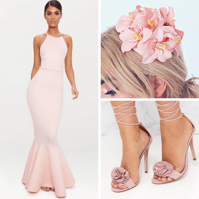 pink pretty little thing outfit