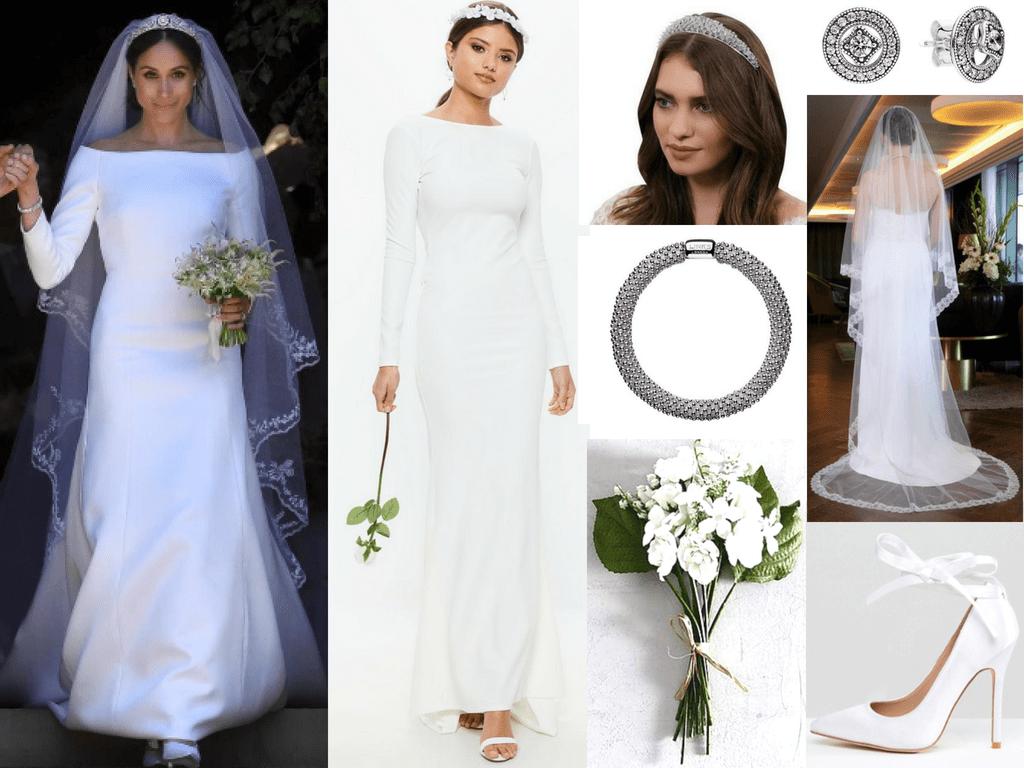 recreate meghans royal wedding look