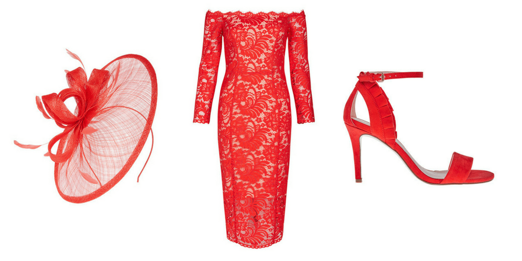 red coast occasion outfit